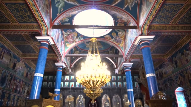 Interior architecture of Orthodox church
