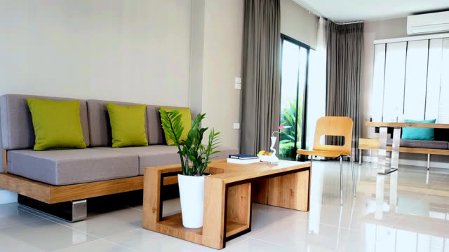Interior design of Living & Dining room video