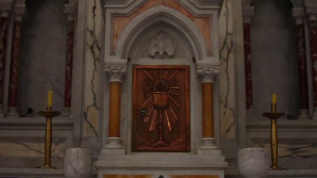 的黎波里教堂的內部圖片。 - lebanon 個影片檔及 b 捲影像