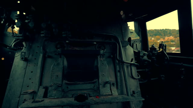 Interior of an Old Steam Engine video