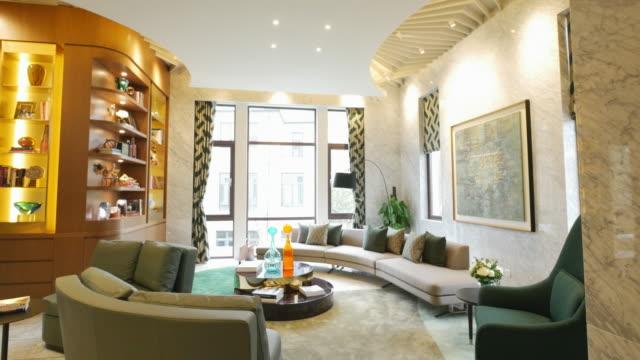 Interior Of Modern Living Room 4k Stock Video More Clips