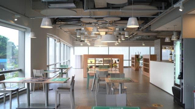 wnętrze nowoczesnego biura puste - space background filmów i materiałów b-roll