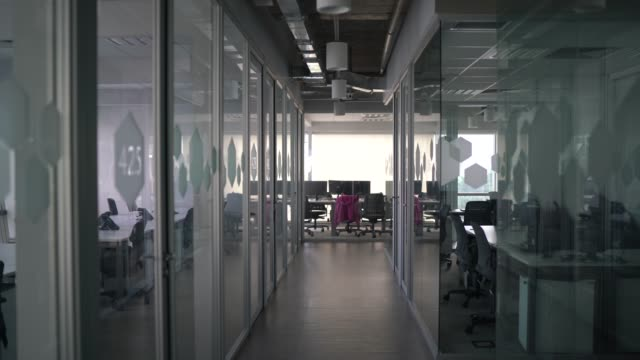 Interior of modern office empty