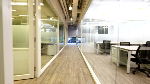 interior of modern office video
