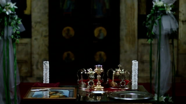 Interior of the Orthodox Church video