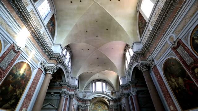 Interior Santa Maria degli Angeli e dei Martiri video