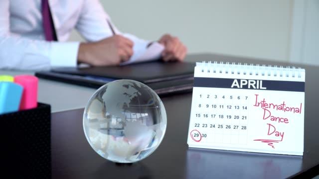 internationella dansdagen - speciella dagar - calendar workout bildbanksvideor och videomaterial från bakom kulisserna