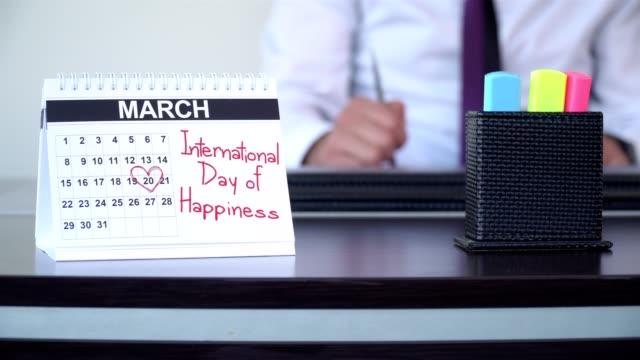 landskampdag av lycka - speciella dagar - calendar workout bildbanksvideor och videomaterial från bakom kulisserna