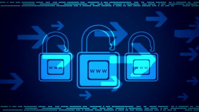 Cyber seguridad de Internet - vídeo