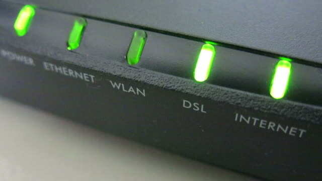 Internet modem video