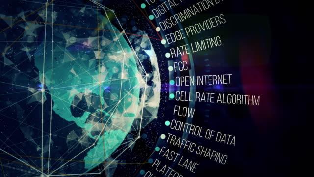 internet neutrality - censura video stock e b–roll