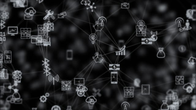 internet of things, cloud computing storage from the chaotically slow moving connected things video