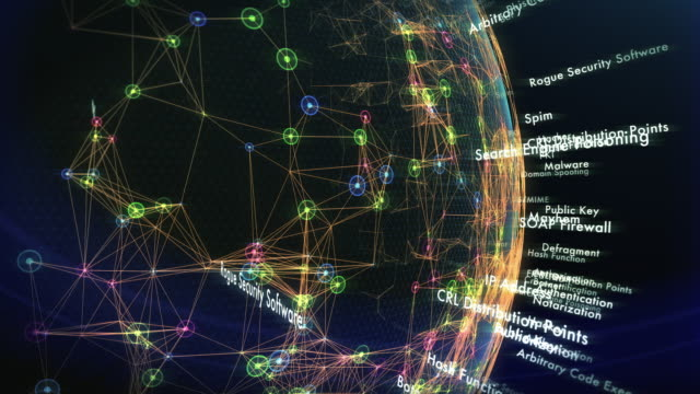 Internet Security World (4K) video