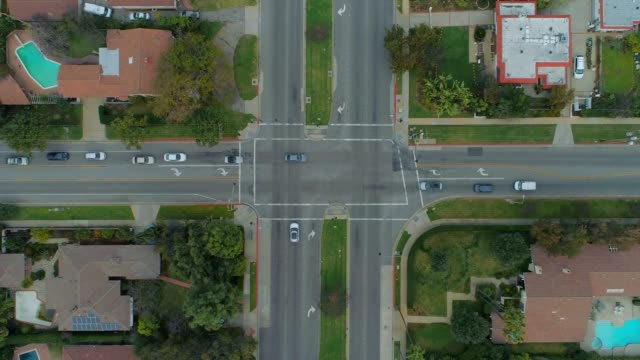 Intersection from Birds Eye View