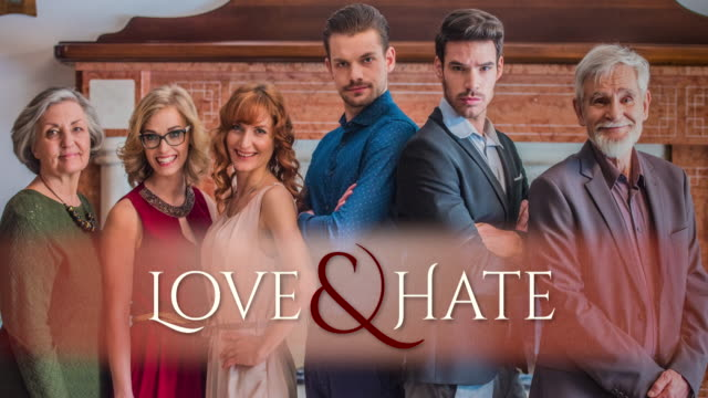 Intro of the soap opera Love&Hate Opening theme of the Love&Hate soap opera. Shot in Slovenia. keyhole stock videos & royalty-free footage