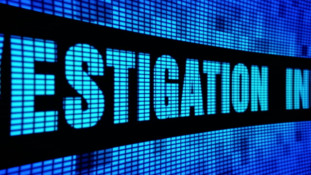Investigation Side Text Scrolling LED Wall Pannel Display Sign Board