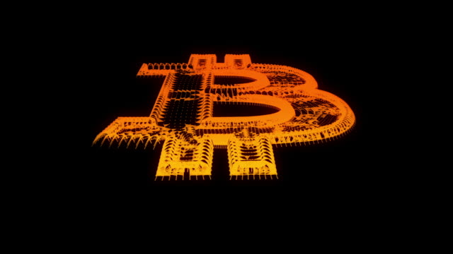 Investing in Bitcoin and the blockchain background video