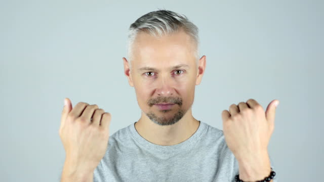 Invitation Gesture by Man , Inviting , Portrait video