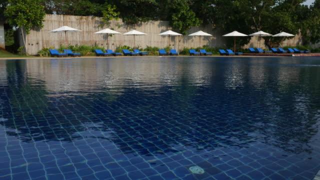inviting resort swimming pool video