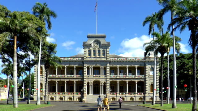 Iolani Palace - Honolulu, Hawaii video