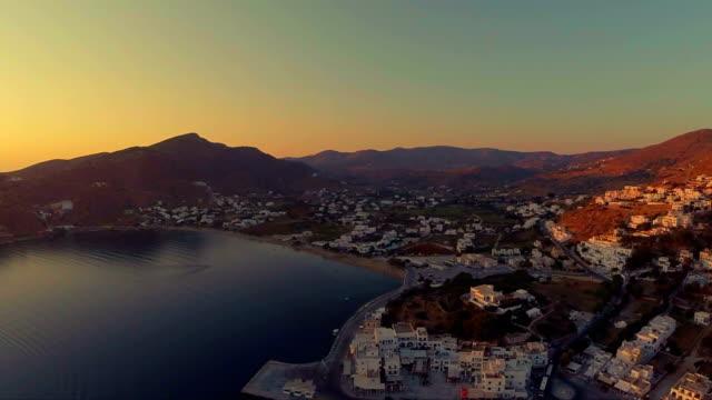 ios-isole cicladi-mar egeo - isole egee video stock e b–roll