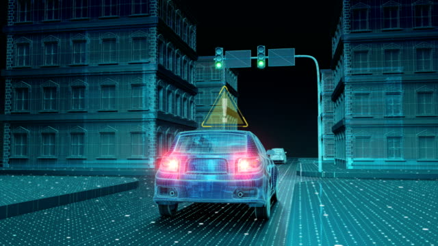 IoT 車交通情報管制システム、things.1 のインターネットに接続します。4 k サイズ ビデオ