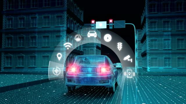 IoT 車交通情報管制システムを接続、モ ノのインターネット アプリケーションを選択します。4 k サイズ ビデオ