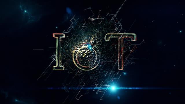 iot キューブ - モノのインターネット点の映像素材/bロール