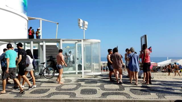 Ipanema Beach in Rio de Janeiro video