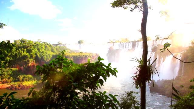 Iquazu Falls Dolly Shot video