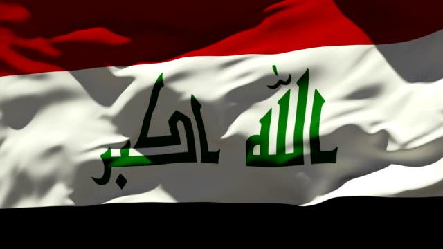 Irak-Flagge – Video