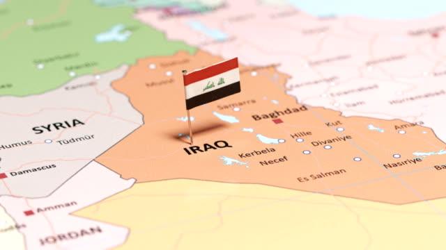 stockvideo's en b-roll-footage met irak met nationale vlag - perzische golfstaten