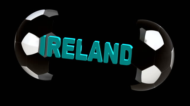 vídeos de stock e filmes b-roll de ireland. 4k resolution. looping. - campeão desportivo