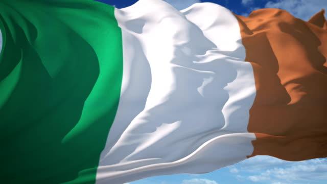 Ireland Flag video