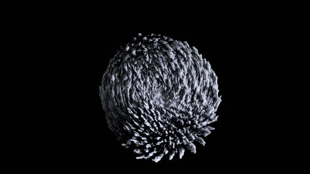 Iron powder. Abstract background. Iron powder under the influence of a magnetic field. Сlose-up. magnet stock videos & royalty-free footage