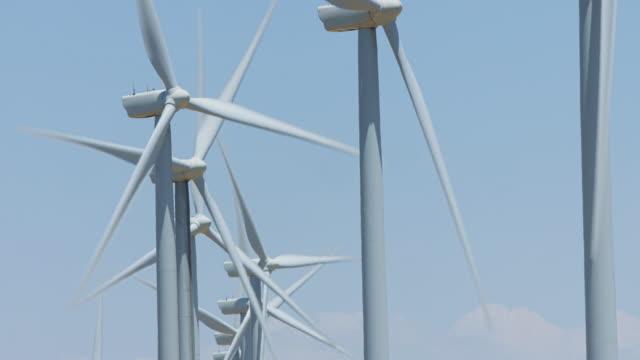 Irregular Line of Wind Turbines video