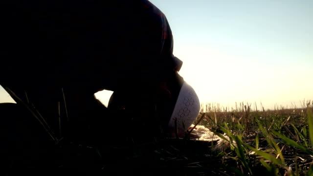 Islamic Man Doing Sujud video