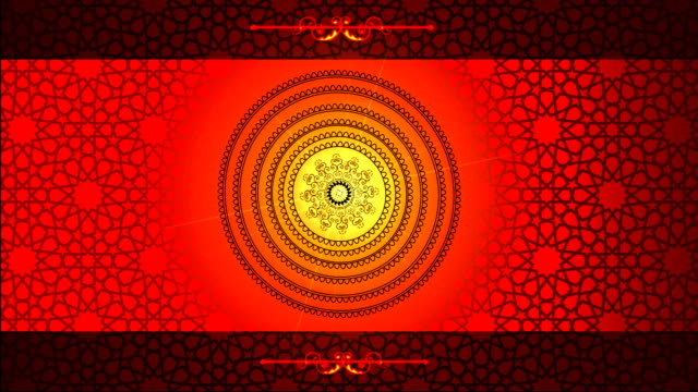 Islamic patterns video