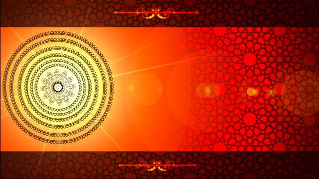 イスラムパターン ビデオ