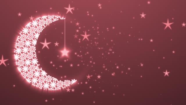 islamic ramadan background with moon and lanters. symbol of fasting, iftar, sahoor, eid, islamıc ritual and traditions - eid stock videos & royalty-free footage