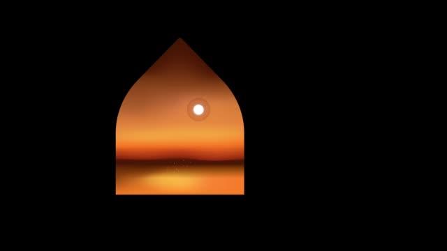vídeos y material grabado en eventos de stock de ramadán islámico - eid murabak fondo - eid mubarak