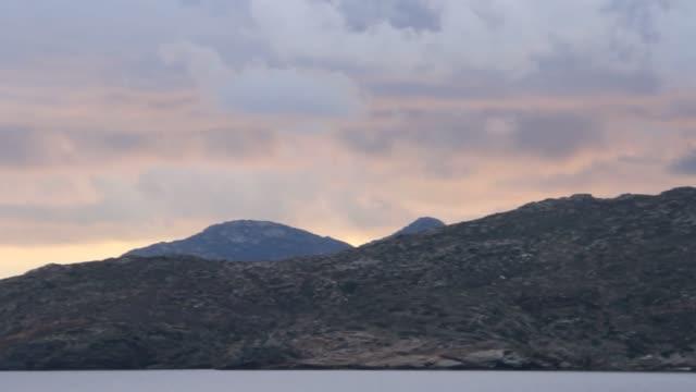 island of naxos, greece - isole egee video stock e b–roll