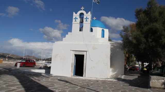 Island of Paros Greece Island of Paros Greece aegean islands stock videos & royalty-free footage