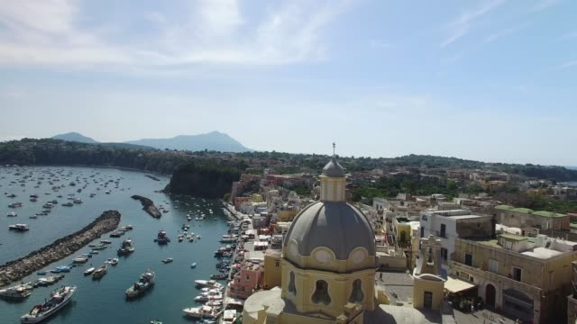 island of procida, naples, italy - procida video stock e b–roll