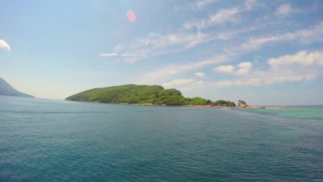 Island of St. Nicolas. Montenegro video