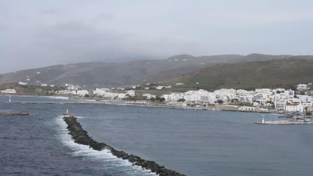 Island of tinos Island of tinos aegean islands stock videos & royalty-free footage