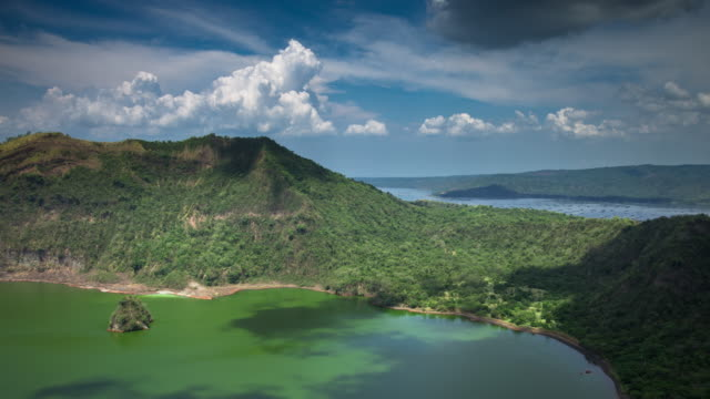 Island on an Island, Taal Lake - Time Lapse video