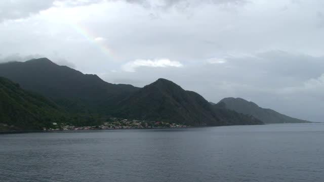Island Rainbow Seascape video