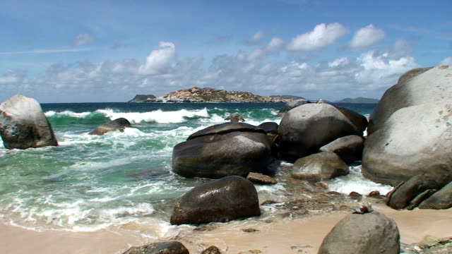 Islands, Boulders, and Beach video