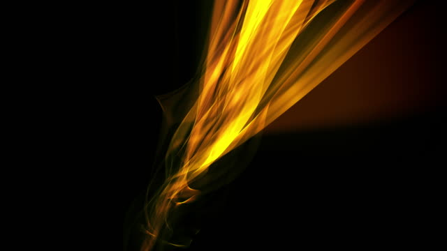 Isolated Abstract Angled Flame Background Loop video